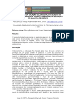 Mapeamento Da Situacao Educacional Surdos Irati_unicentro 2009