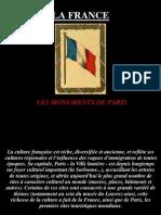 Les Monuments de Paris Trabajo de Cristina Leo y Juan Luis