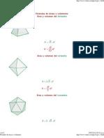 (Fórmulas de áreas y volúmenes)