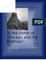 To the Honor of Chicago and His Brethren