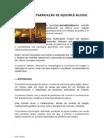 PRODUÇÃO DE AÇUCAR E ALCOOL 2012