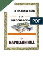 Cómo Hacerse Rico sin Preocupaciones - Napoleon Hill
