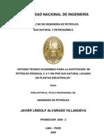 Tesis de Gas Natural -Residual de Petroleo
