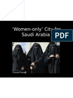 Saudi Arabia - Women Only City