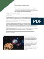 Teorias Sobre La Formacion Del Universo Carolina