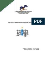 Etapas en El Desarrollo Internacional de Una Empresa