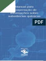 Manual para interpretação das substâncias químicas