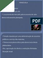 Aula 26 - Venezuela - Governo Chaves