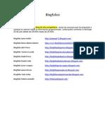 Lista de Blogfolios
