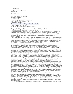 Una Teoria Del Todo Ken Wilber Pdf Download