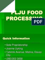 Presentation for Finals Buko Juice