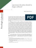 1. Concepciones de Ninez Desde La Psicologia Cultural