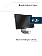Apple Technician Guide for LED Cinema Display (24-Inch)