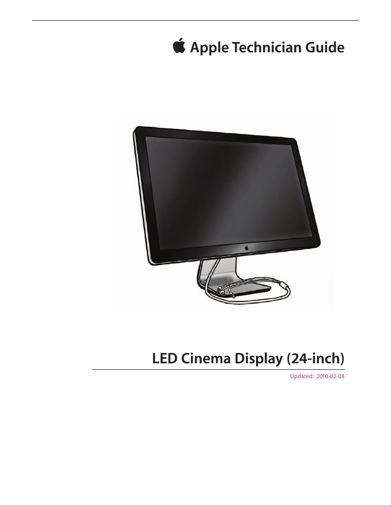 Apple Technician Guide For Led Cinema Display 24 Inch Usb Hub Buy Electronic Printed Circuit Boardboard Hubcircuit Electrical Connector