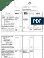 6.- Planeación didáctica 3er Grado