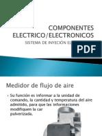 Componentes Electrico de inyeccion a gasolina