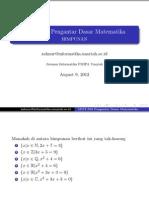 Soal PDM-01