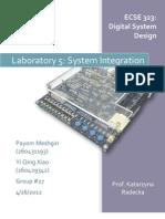 ECSE 323 - Tic Tac Toe Game on FPGA Board - Report