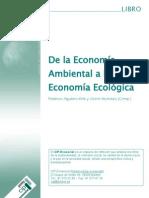 De la Economía Ambiental a la Economía Ecológica