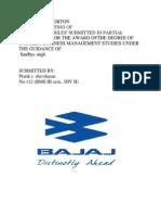 A Project Reporton Bajaj Pratik (1)