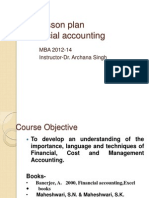 01 Lesson Plan Financial Accounting