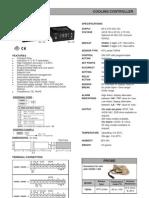 Digital Temperature Controller Selectron CH402 403