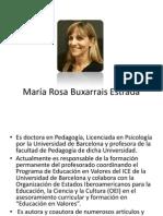 María Rosa Buxarrais Estrada