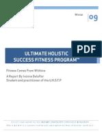 Ultimate Holistic Success Fitness Program Report
