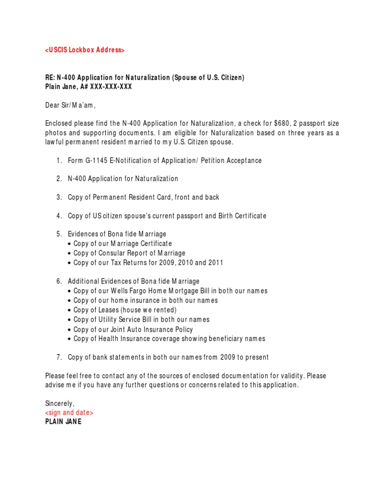 cover letter for adjustment of status application - cover letter for immigration application
