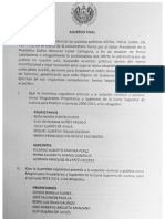 Acuerdo Final CAPRES 20 de Agosto