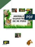 ANIMALES SILVESTRES DE MI PERÚ