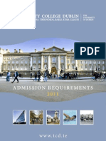 Admission Requirements Summary 2011
