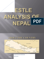 Pestel Analysis of Nepal