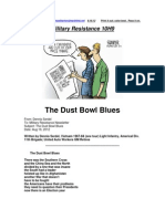 Military Resistance 10H9 the Dust Bowl Blues