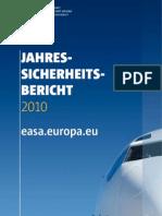 EASA 2010- Jahressicherheitsbericht 2010