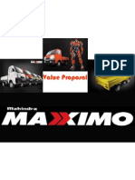 Value Proposal Maxximo