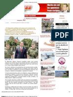 17-08-2012 Periódico Express de Nayarit - Firme unidad entre Ejército, Marina y Policía Nayarit