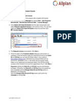 Allplan 2012 en Requesting Student License