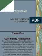 Health Programs