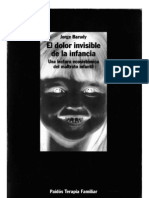 El Dolor Invisible de La Infancia. Jorge Barudy
