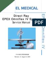 Del Medical Epex Omniflex IV Service Manual