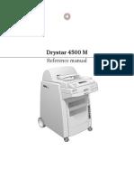 AGFA Drystar-4500M User Manual