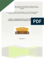 D9CM3- Construction Des Connaissances