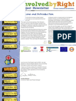 Involved by Right Project Newsletter 3