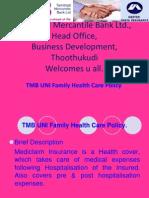 TMB UNI Family Health Care Policy