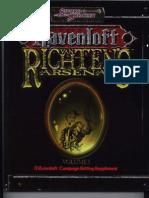 Van Richten's Arsenal Vol I by Azamor