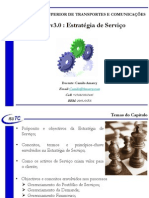 Aula 07 - Capitulo 03 - PDSI - Aula 02 - ITIL V3 - Estratégia de Serviço