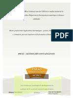 D9CG1- Gestion Des Connnaissances