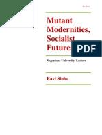 Mutant Modernities, Socialist Futures by Ravi Sinha