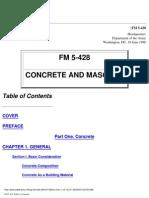 487744 FM 5428 Concrete and Masonry